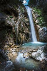 Tschebachschlucht Wasserfall
