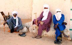 Tuareg - in blau