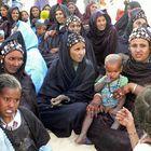 Tuareg women at the Essakane Festival (Mali) in January 2007
