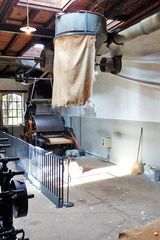 Tuchfabrik Müller   Anlage zum Zerflocken der Wolle