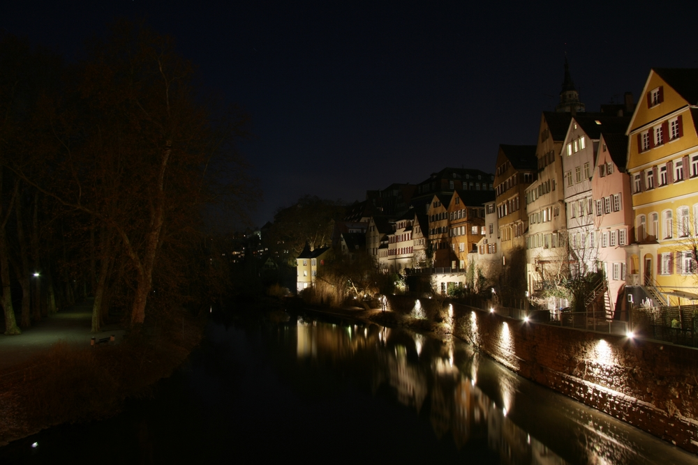 Tübingen - Altstadt - Neckarinsel