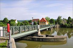 Tübingen - Brücke am Stauwehr