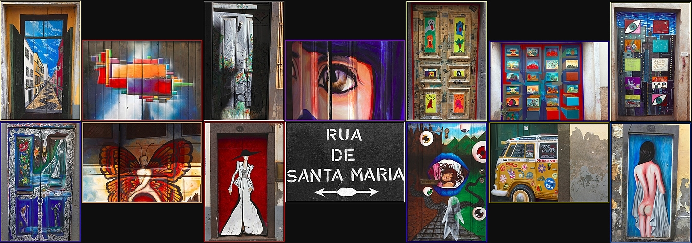 Tür - ART - Museum # Rua de Santa Maria
