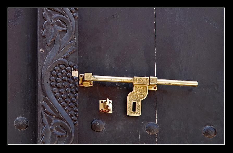 Tür-Detail - Oman - 2