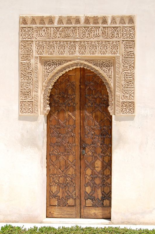 Tür im Myrtenhof