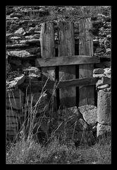 Tür in den Cevennen