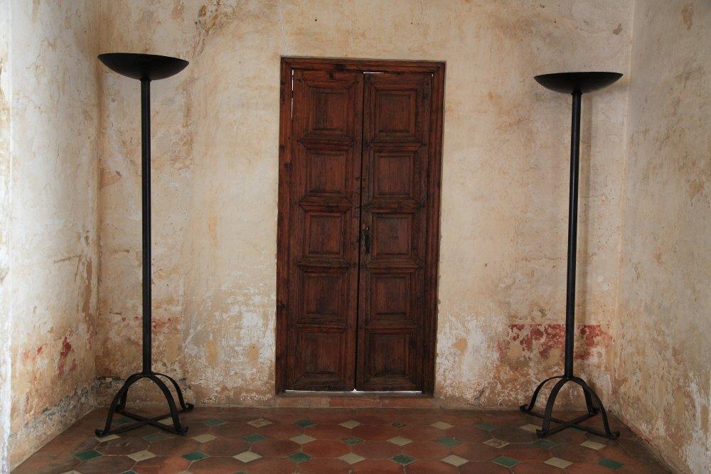 Tür in der Alhambra