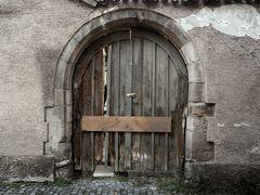 Tür in Esslingen