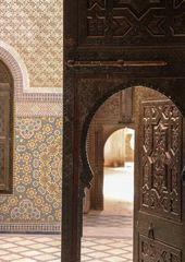 Tuer in Kasbah maroc