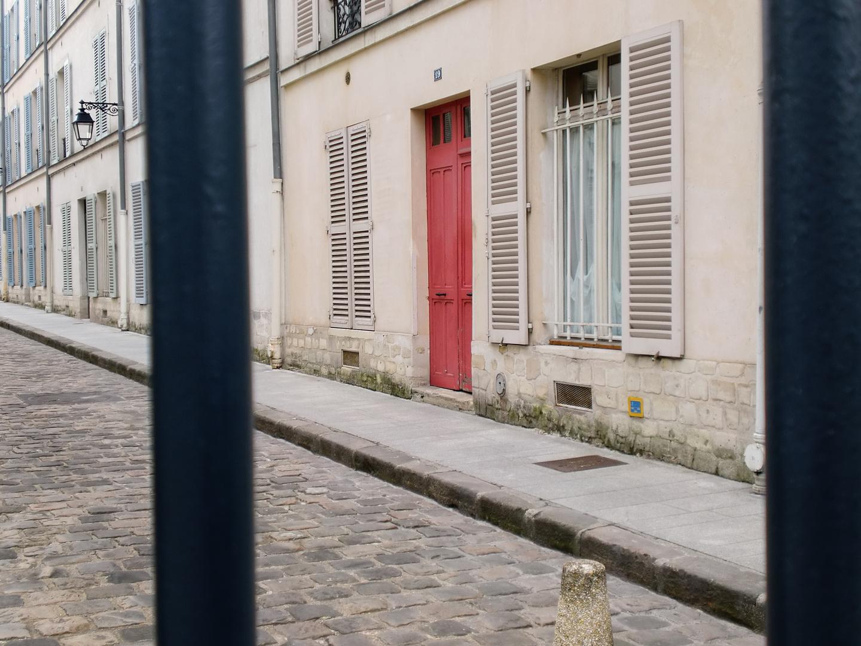 Tür in Montparnasse