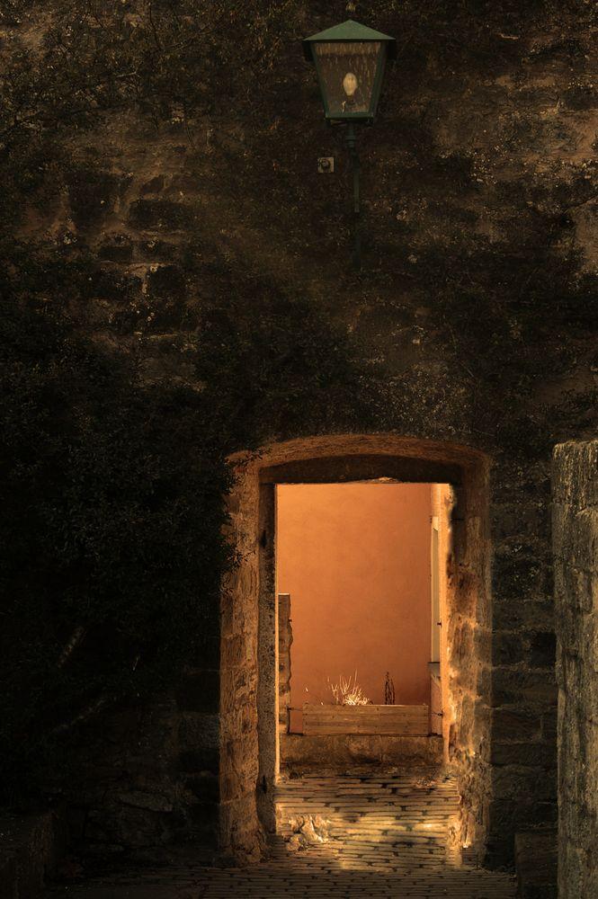 Tür ins Licht
