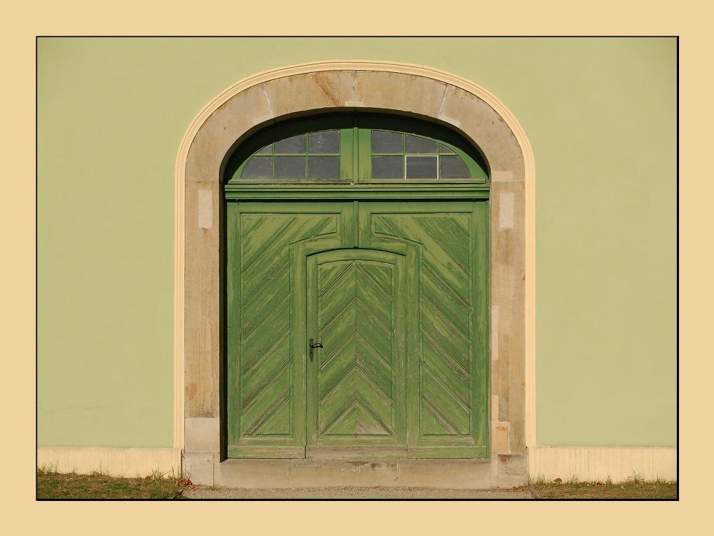 Tür vom Grünem Haus in Potsdam