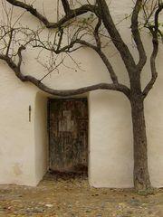 Tür zum Folterturm - Burg zu Burghausen