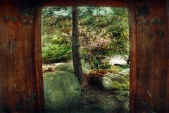 Tür zum Frühling