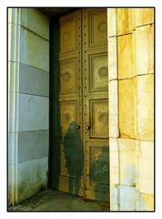 Tür zum Goldenen Saal