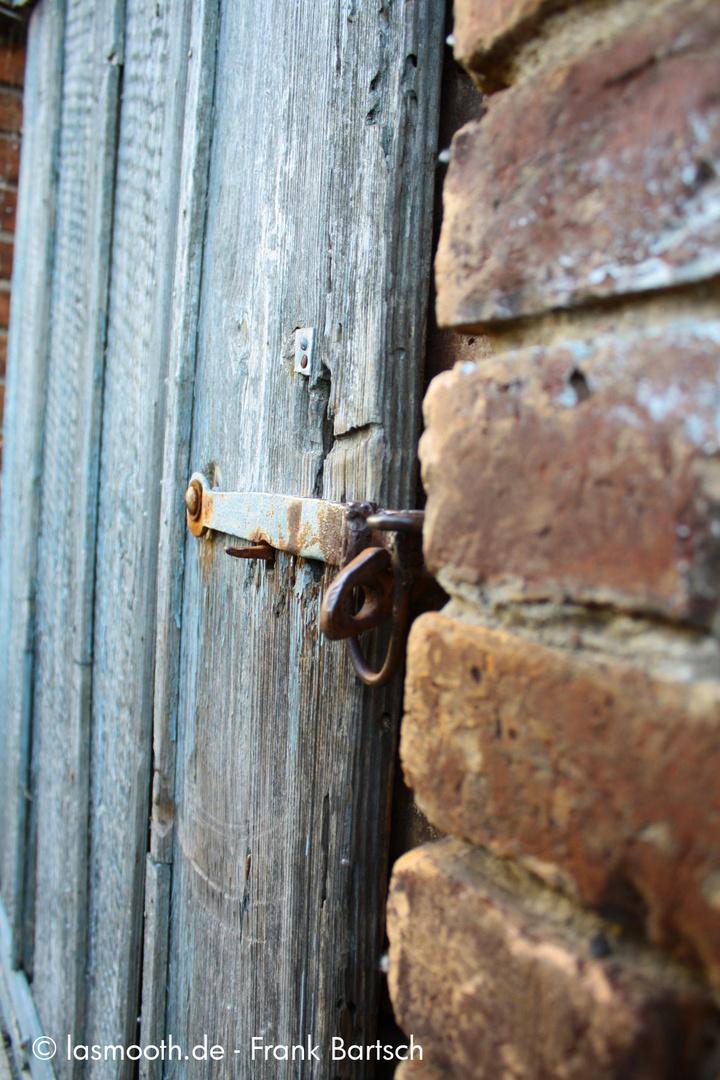 Tür zum Hof