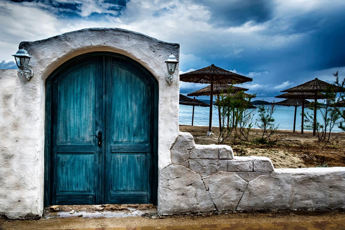 Tür zum Meer