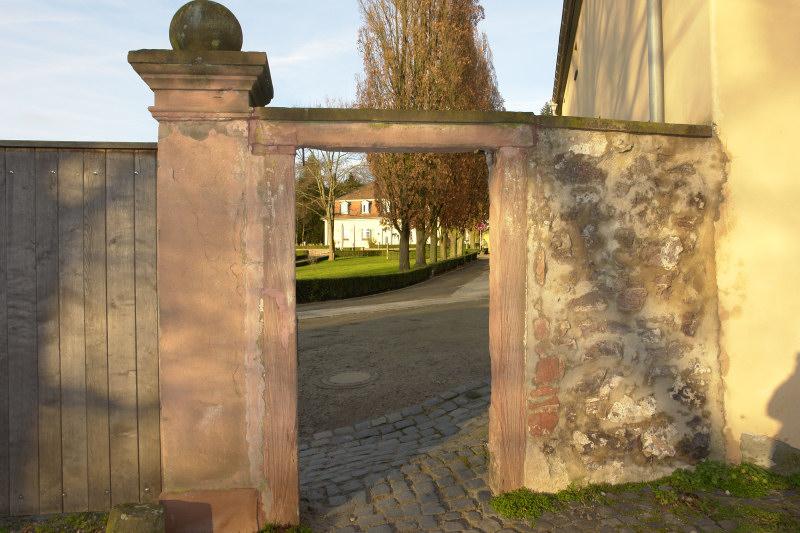 Tür zum Schloß