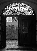 Tür zum Schlossplatz