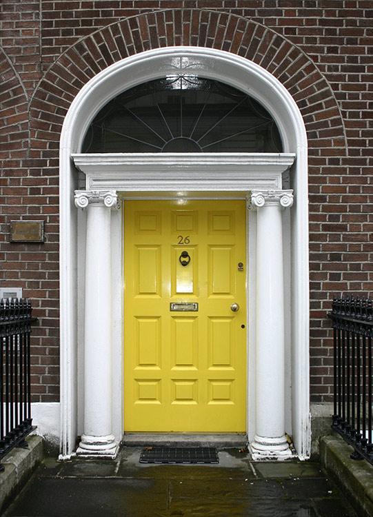 Türe in Dublin