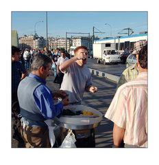 Türkei 4: Muscheln auf der Galata Brücke