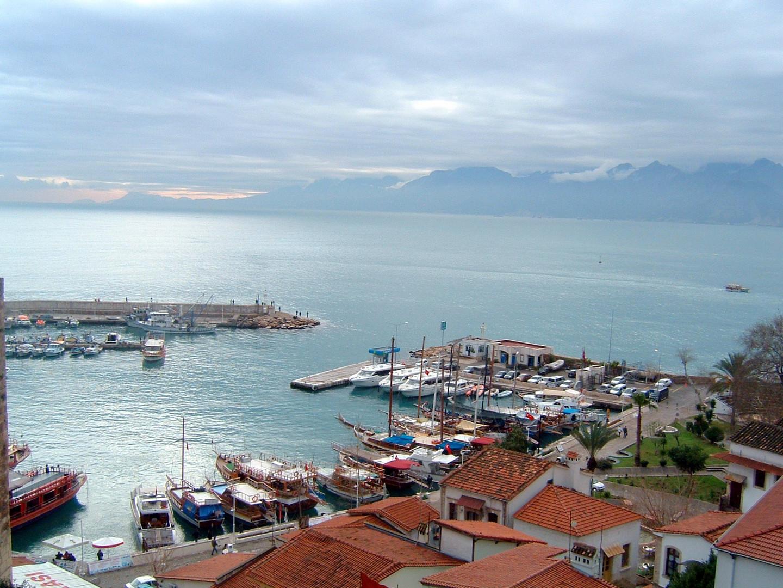 Türkei Antalya alter Hafen