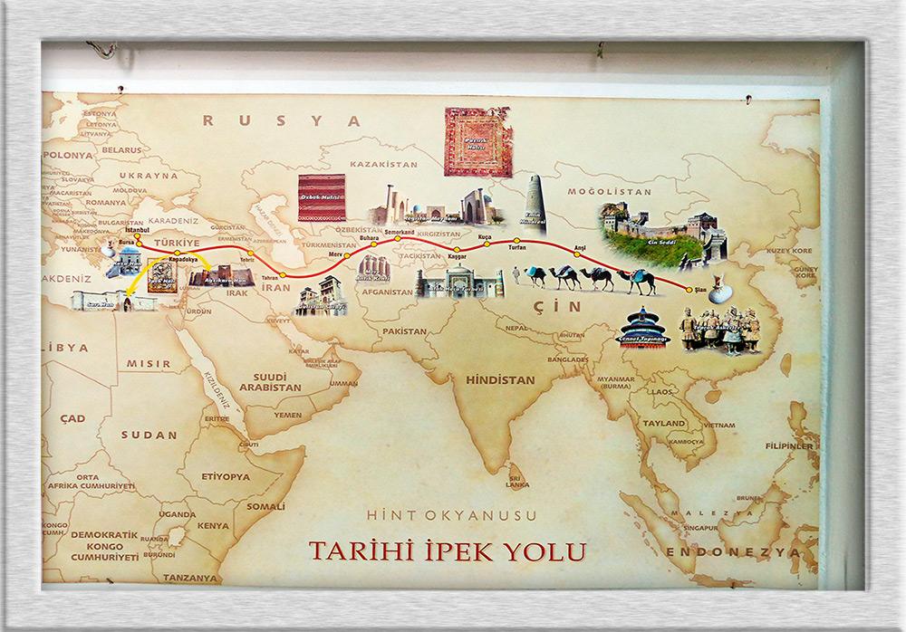 Türkei - Der Verlauf der Seidenstraße durch die Türkei Foto & Bild ...