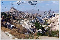 Türkei - Kappadokien - Göremetal -Uschisar
