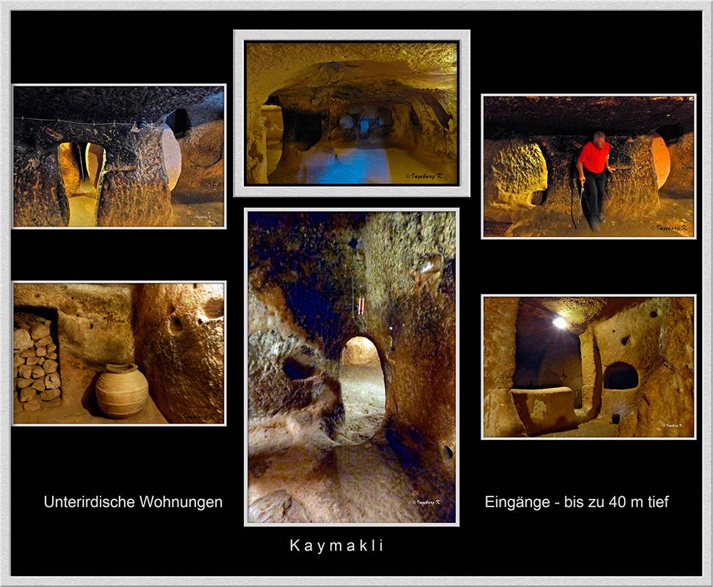 Türkei - Kaymakli - unterirdische Wohnungen - 1