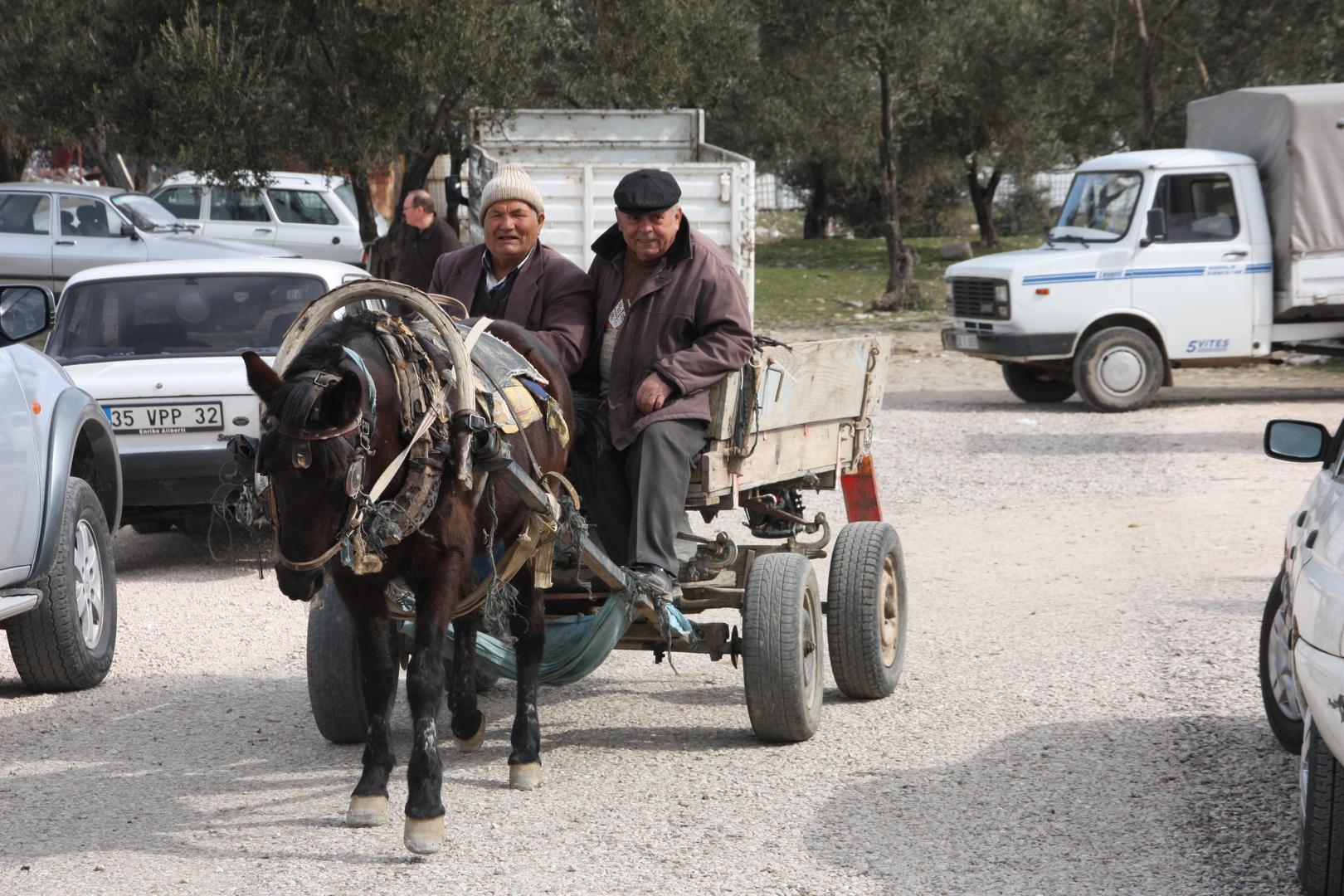 Türkischer Bauernmarkt...