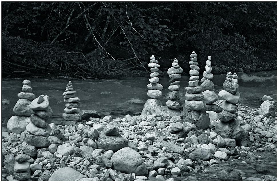 Türmchen aus Stein...