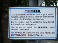 tüünlüüd in Maasholm