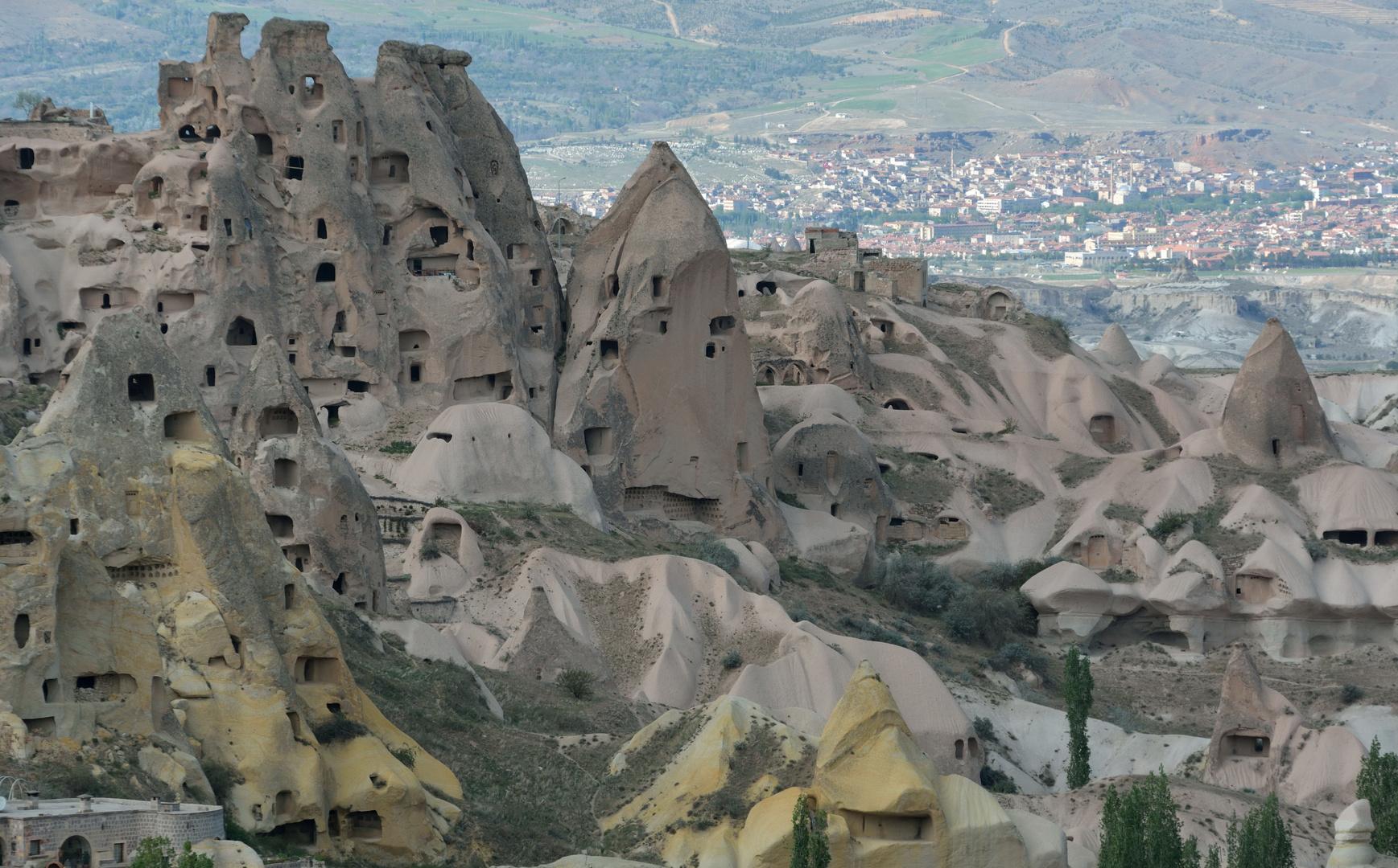Tuffsteinlandschaft in Kapadokien