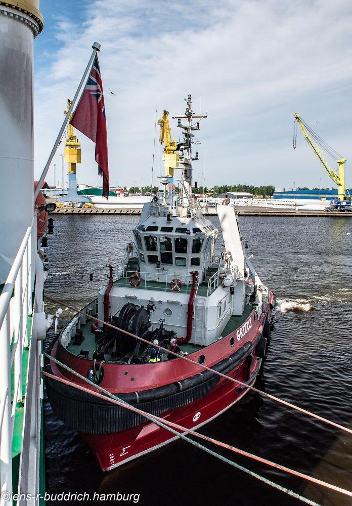 Tugboat Grizzly Af Gefle ,ex Fairplay 22