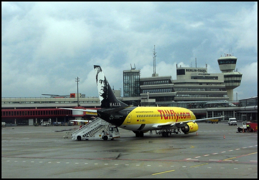 """TUIfly """"Halle"""" in TXL"""