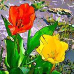 """ Tulpen-Gemälde """