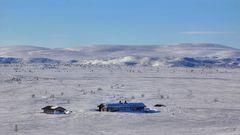 Tundra in Nordfinnland