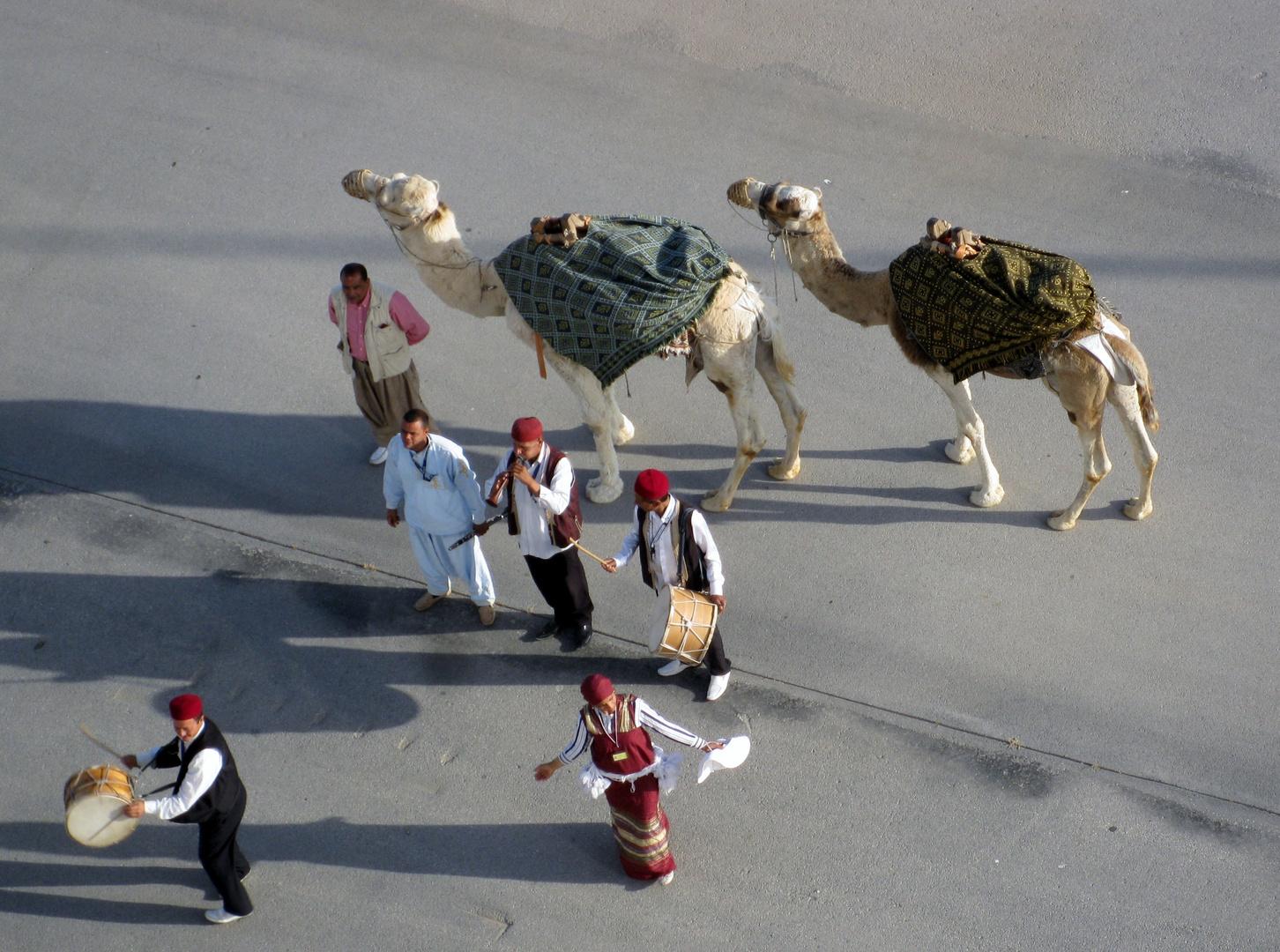 Tunesische Begrüssung
