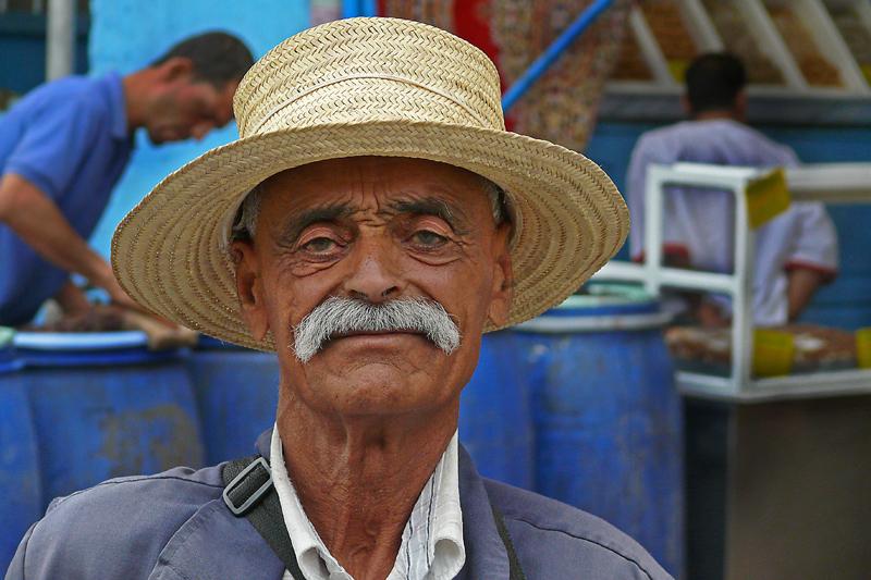 Tunesischer Händler