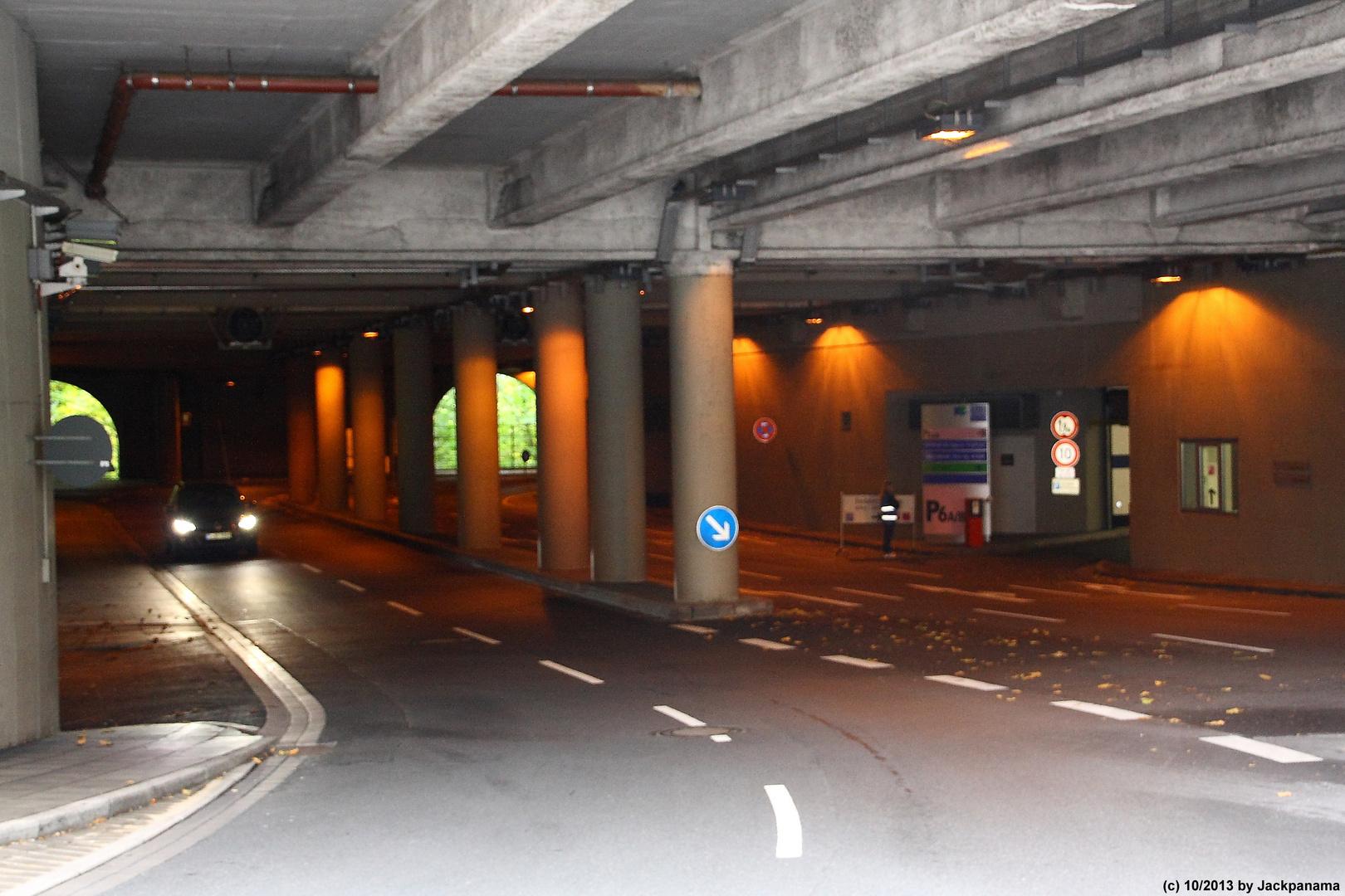Tunnel am Kongress-Zentrum in Essen