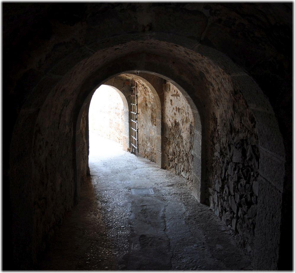 Tunnel auf Spinalonga