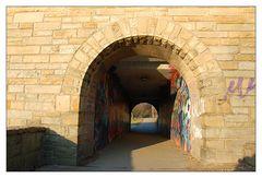 Tunnel-Durchblick