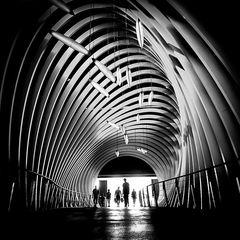 Tunnel zum Einkaufsglück
