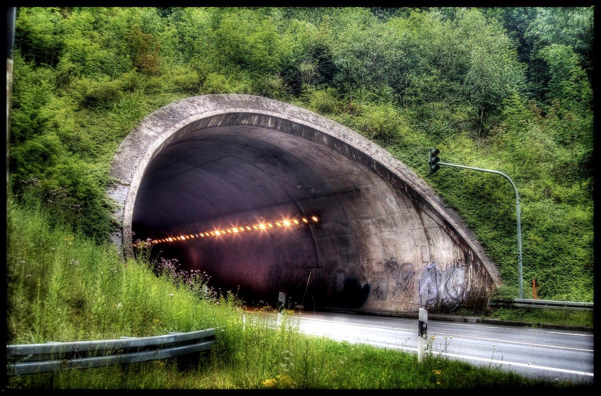 Tunnelblick in Oerlinghausen