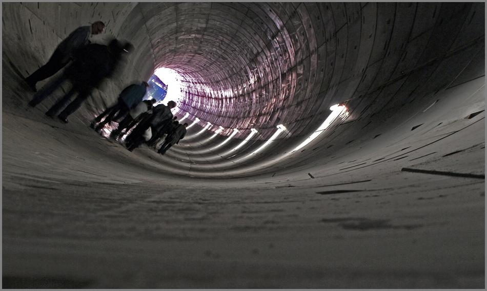 Tunnelschieflage