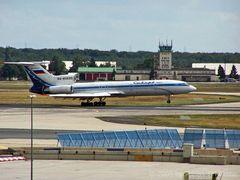 Tupolev 154 in Frankfurt a.M.