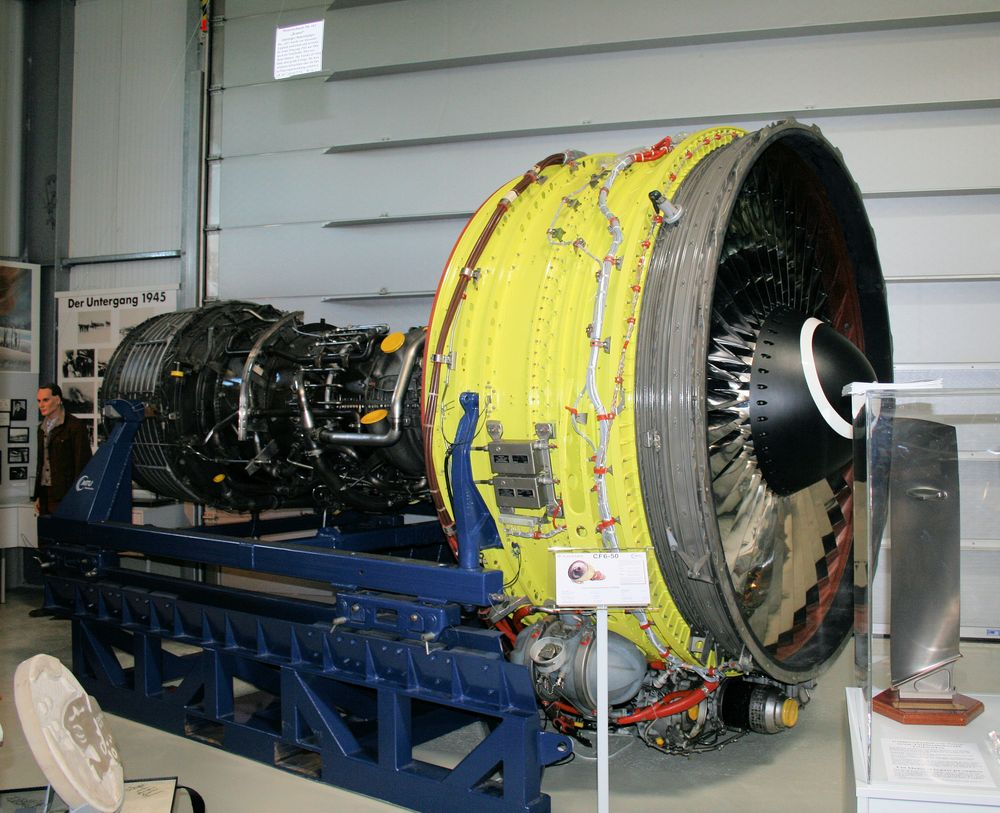 Turbine CF6-50