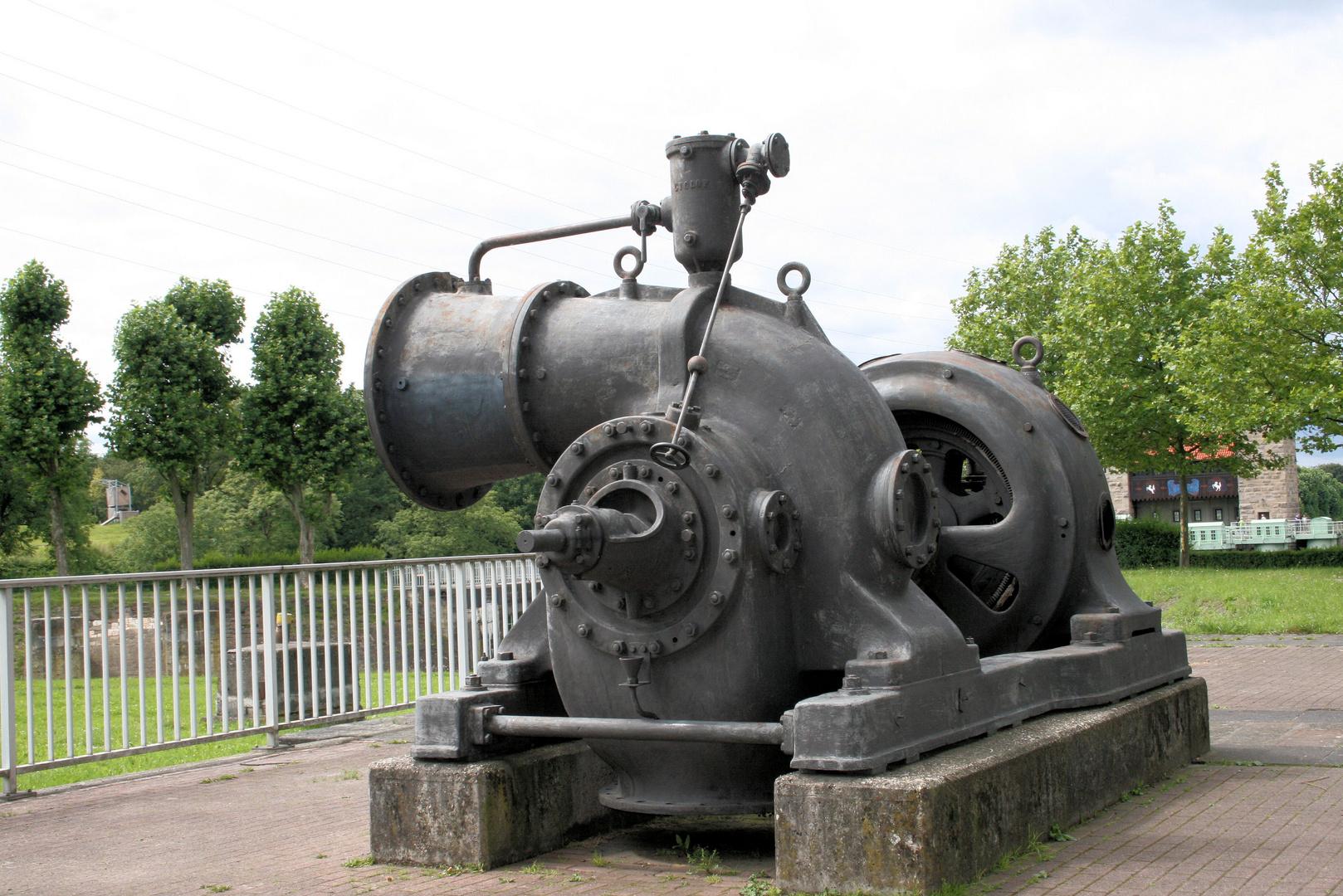 turbine im schleusenpark henrichenburg