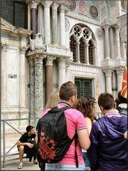 Turisti a Piazza San Marco