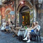 Turisti in pizzeria